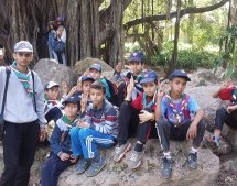 الحصة التدريبية الكشفية في حديقة التجارب الحامة أول ماي 2015